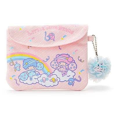Sanrio 雙星仙子星空啦啦隊系列帆布面紙化妝包