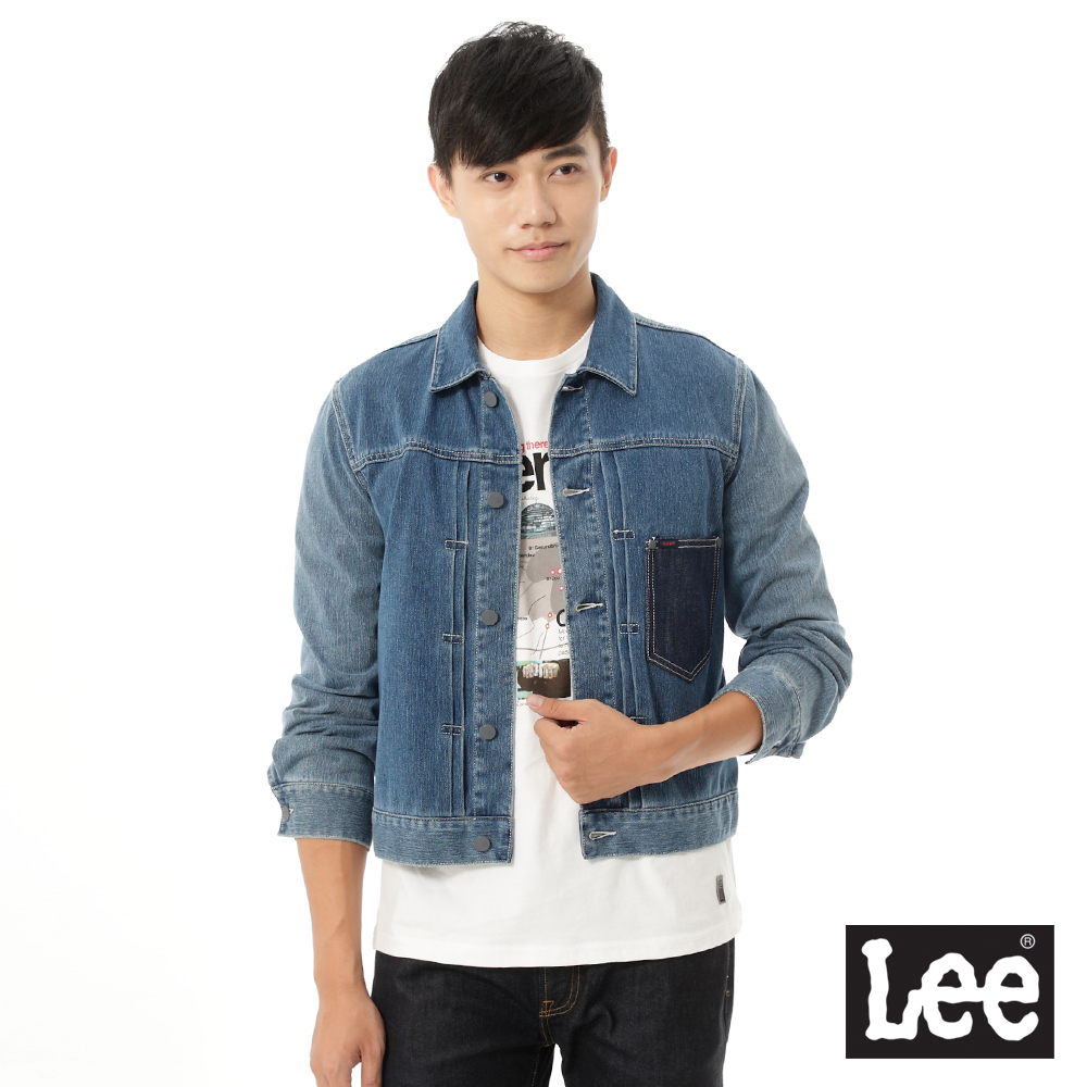 Lee 牛仔外套UR-男款