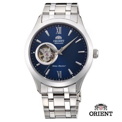 ORIENT 東方錶 SEMI-SKELETON系列 藍寶石鏤空機械錶 -  38 . 5 mm