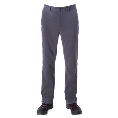 【hilltop山頂鳥】男款超撥水保暖長褲H31MJ4灰