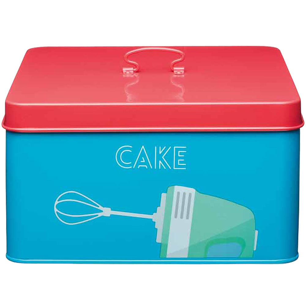 KitchenCraft 彩繪蛋糕收納盒