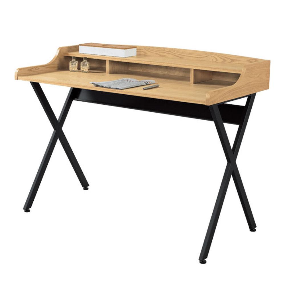 居家生活   費洛思4尺栓木本色書桌 (寬120cm)