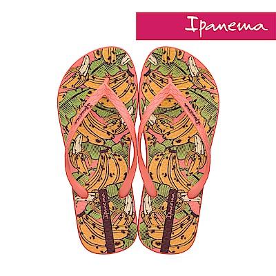 IPANEMA 熱帶水果夾腳拖鞋-橘色香蕉