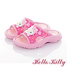 HelloKitty 輕量減壓休閒拖鞋童鞋-桃
