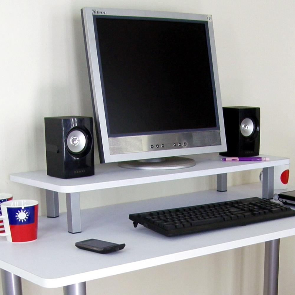 頂堅 寬80公分-桌上型置物架/螢幕架(二色)-2入