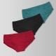 sloggi-Shine系列平口褲3件包(紅