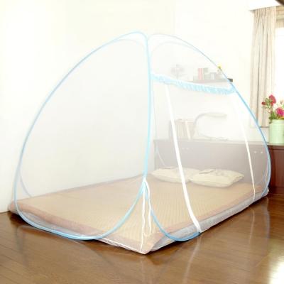Love-Buy-彈開式蒙古包造型蚊帳-雙人床尺寸