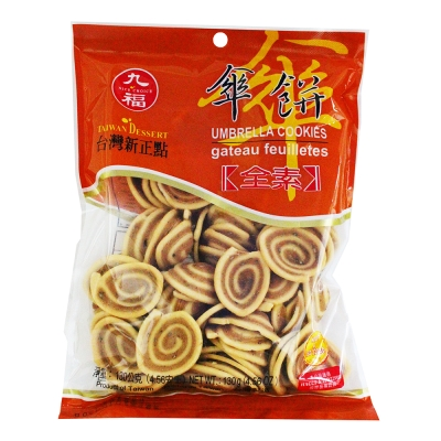 九福 素食傘餅(114g)