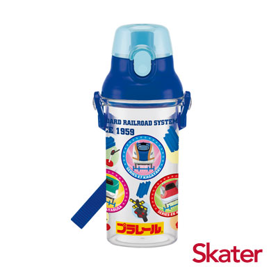 Skater直飲透明水壺 (480ml)鐵道王國