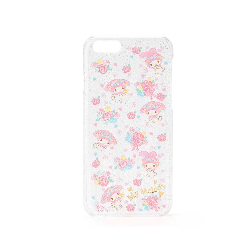 Sanrio美樂蒂iPhone6 6S透明硬殼保護殼蕾絲花園
