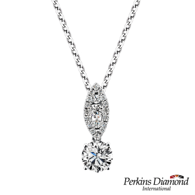 PERKINS 伯金仕 - GIA 夏綠蒂系列 0.30克拉鑽石項鍊