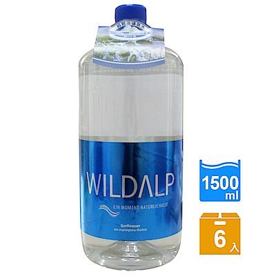 WILDALP 奧地利天然礦泉水(1500mlx6瓶)