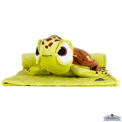 Zoobies 迪士尼Disney 小古款 玩偶抱毯/嬰兒毯/毛毯 彌月禮盒