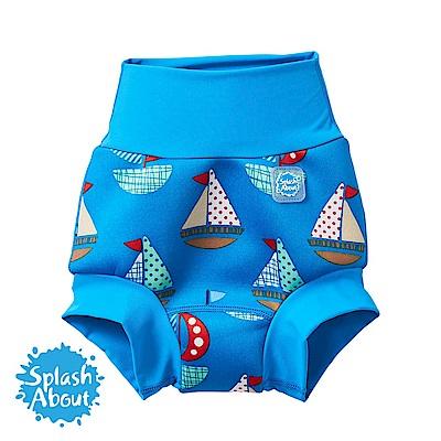 Splash About 潑寶 3D加強版 游泳尿布褲 - 普普風帆船