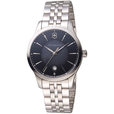 維氏 VICTORINOX ALLIANCE 腕錶系列 -黑/35mm