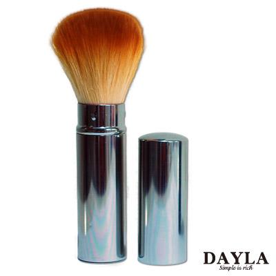 DAYLA-鋁殼伸縮修容刷-尼龍毛
