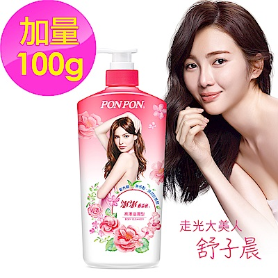 澎澎 香浴乳 亮澤滋潤-850g+100g