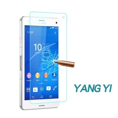 YANG YI 揚邑 Sony Xperia Z3 防爆防刮防眩弧邊9H鋼化玻璃...