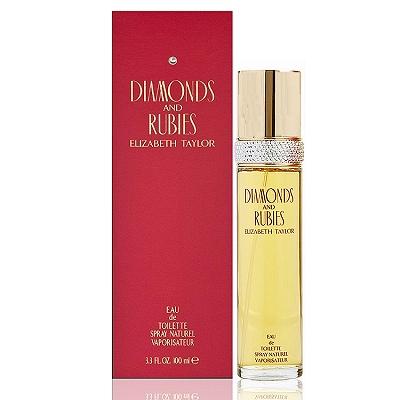 Elizabeth Taylor Diamonds & Rubies紅寶石淡香水100ml