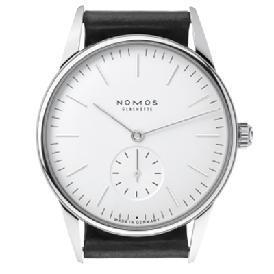 NOMOS-Orion-Weiss-306-小秒針手上鍊腕錶-白-35mm