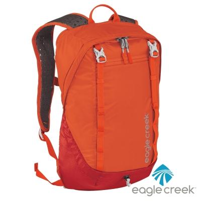 美國Eagle Creek RFID超輕量防撕裂雙肩後背包17L(烈焰橙)