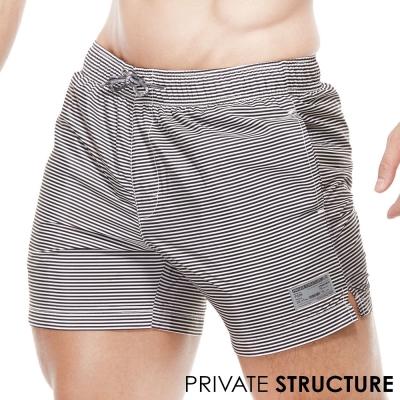 P.S自然系繫繩運動休閒短褲(灰色)