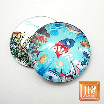 JB DESIGN-文創玻璃磁鐵-760_環島台灣