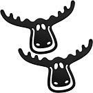 KOZIOL 麋鹿書籤(黑2入)