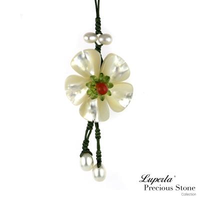 大東山珠寶 luperla 貝殼桐花吊飾
