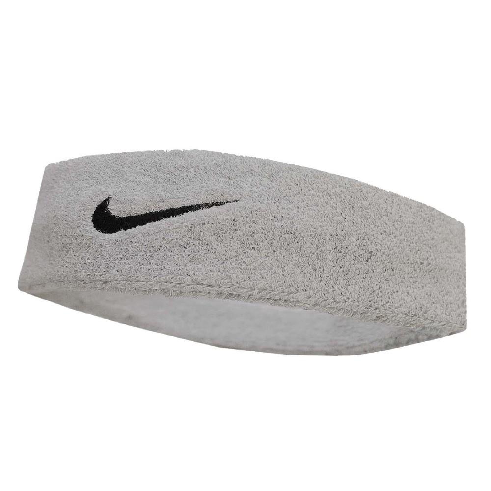 Nike 頭帶 Swoosh HeadBand 運動 灰 黑
