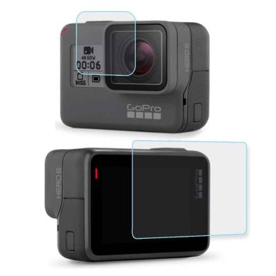 GoPro HERO6 相機鏡頭+觸控螢幕 鋼化玻璃膜 螢幕貼