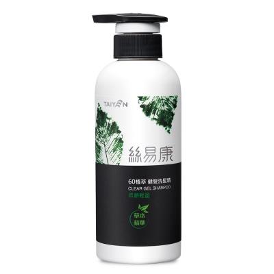 TAIYEN台鹽 絲易康60植萃洗髮精-柔順輕盈 350ml