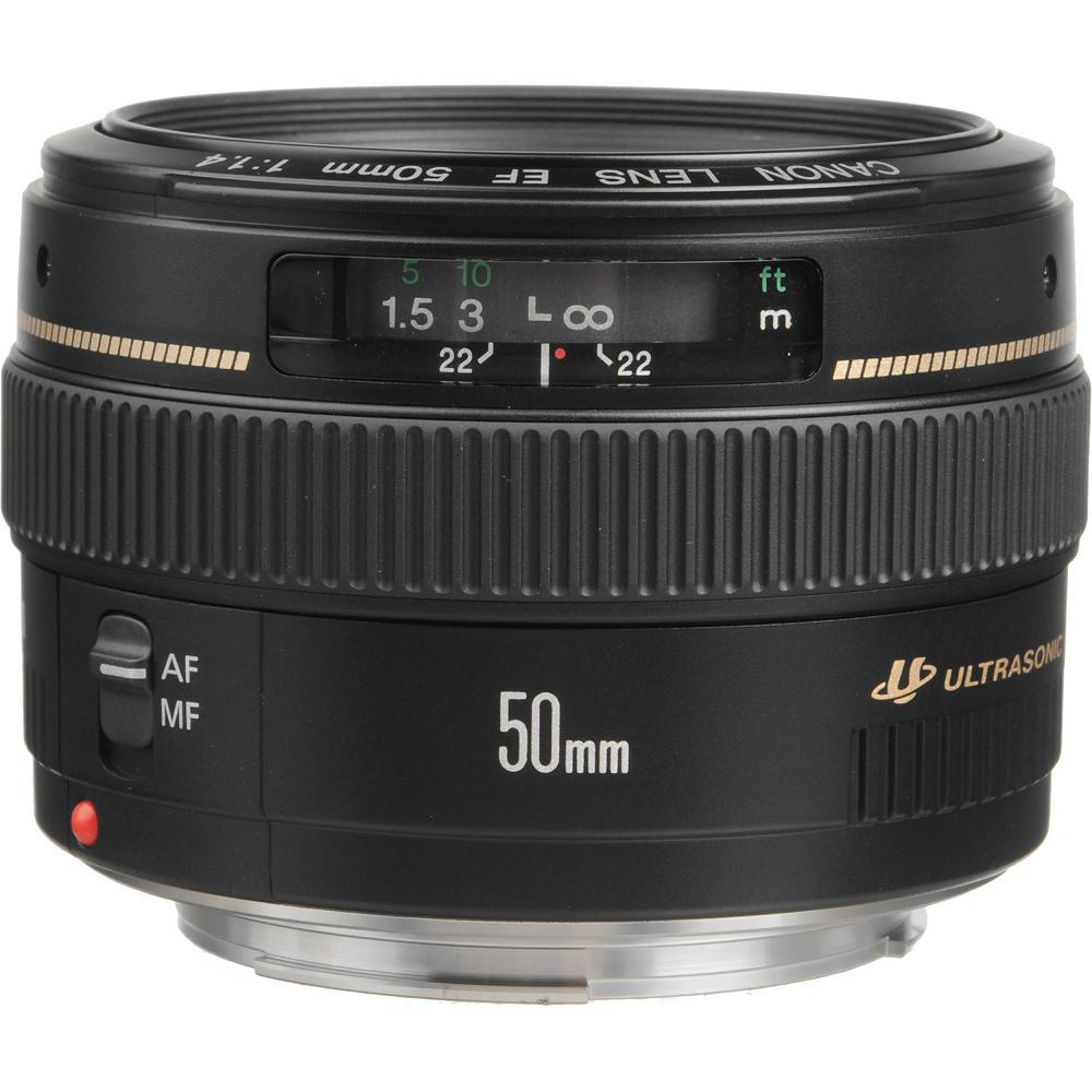 Canon EF 50mm F1.4 USM 大光圈標準鏡頭(平行輸入)