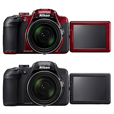 Nikon coolpix B700 60倍高倍望遠可翻式螢幕類單眼相機*(平輸中文)-黑