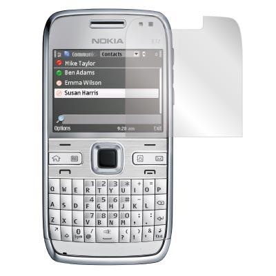 ZIYA Nokia E72 抗刮亮面螢幕保護貼2入