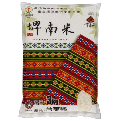 台灣穀堡 台東埤南米(3kg)