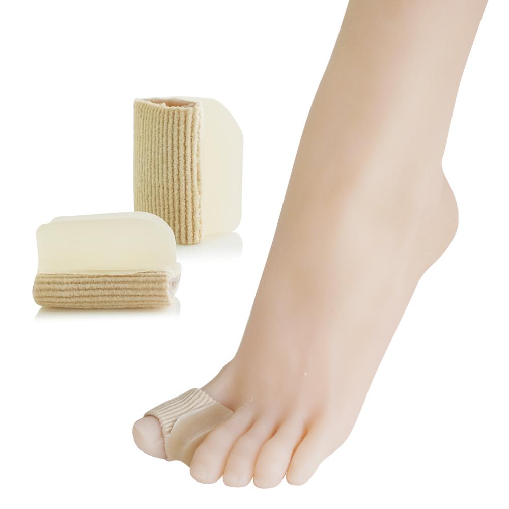 足的美形 纖維矽膠腳指分趾墊(2雙)