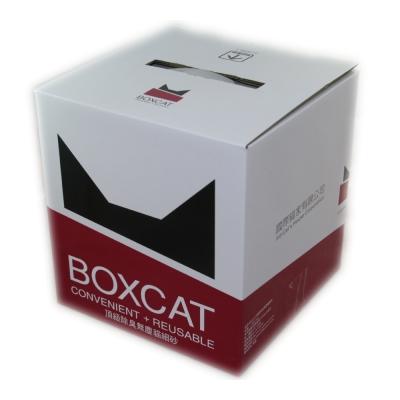 國際貓家BOXCAT 紅標-頂級無塵除臭貓砂11L(11kg)