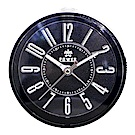 POWER霸王鐘錶-藝術字小鬧鐘-時尚黑PA667BK-8CM
