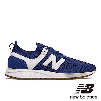 New Balance 復古鞋MRL247DU-D中性藍色