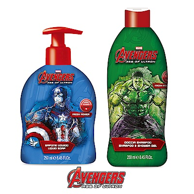自然之綠 復仇者聯盟洗澡洗髮/清潔露(250ml)款式任選