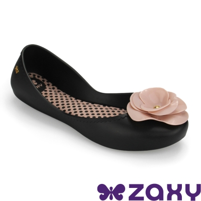 Zaxy 巴西 女 START IV 山茶花蕊娃娃鞋 (黑粉)