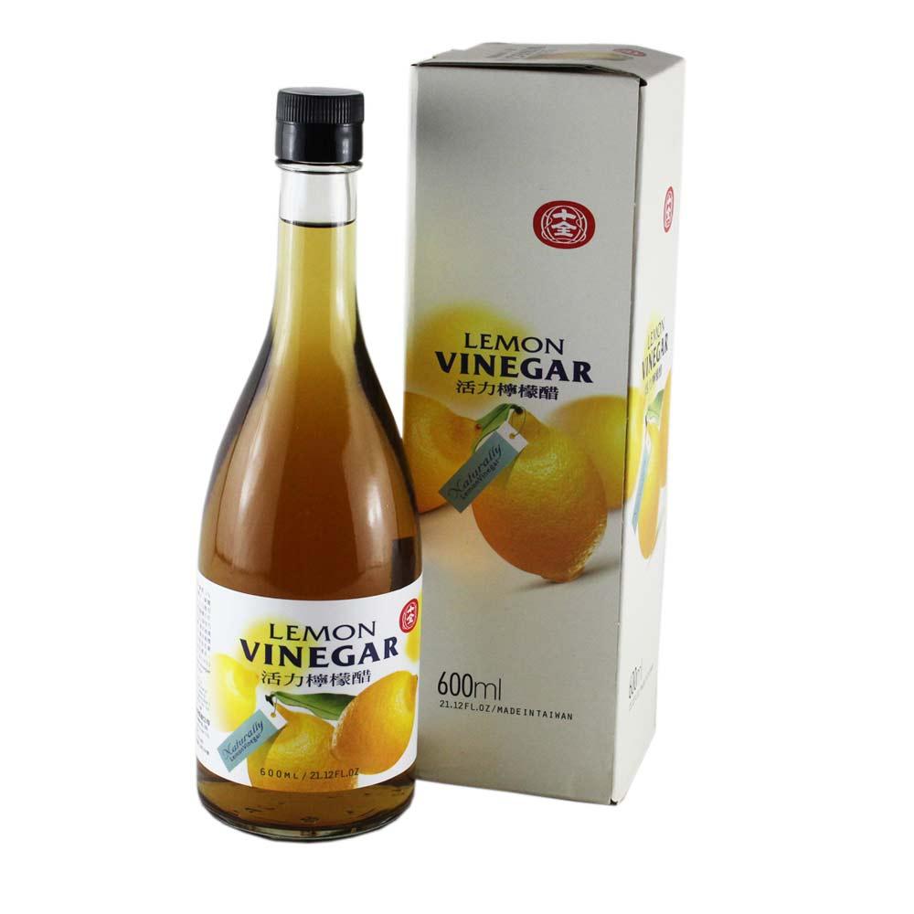 十全 活力檸檬醋(600ml)