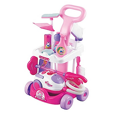 Amuzinc酷比樂 家家酒玩具 音效清潔推車+吸塵器 5951