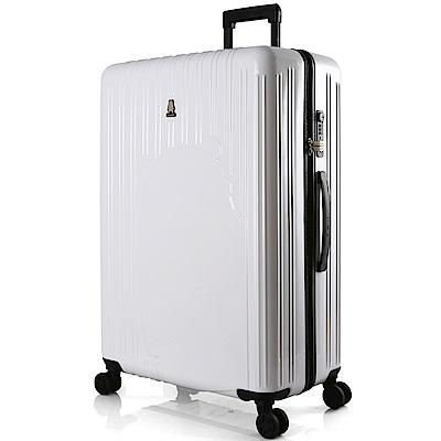 SWISSMOBILITY 瑞動 熊本熊28吋PC耐撞TSA海關鎖行李箱/旅行箱(白色)