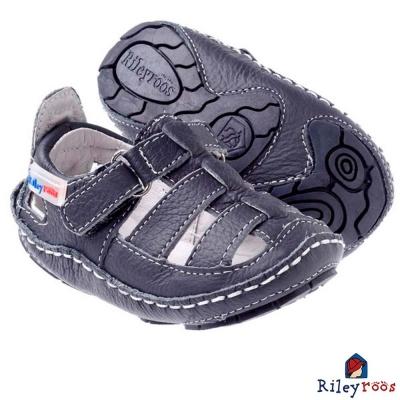 Rileyroos 美國手工童鞋學步鞋-Chessie Navy