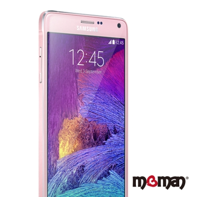 Mgman Samsung Note4 0.33mm 2.5D玻璃保護貼