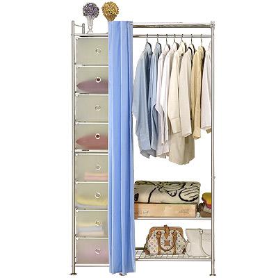 巴塞隆納─W3+D型60公分衣櫥置物架
