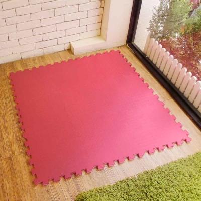 【新生活家】EVA運動安全地墊62x62x1.3cm-紅色(12片入)