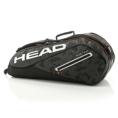 HEAD Tour Team系列 6支裝球拍袋-黑銀 283128
